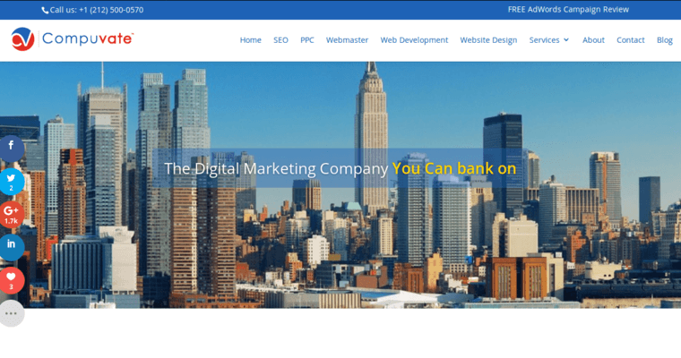 Compuvate | Top New York PPC Businesses | 10 Best PPC