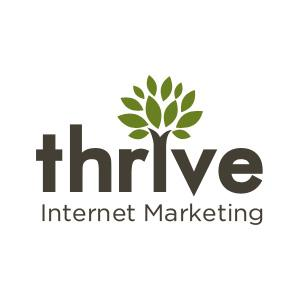 Top Twitter Pay-Per-Click Business Logo: Thrive Web Marketing